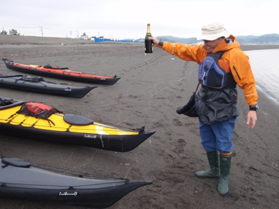 祝!初船出: Folding Kayaker's LOGBOOK