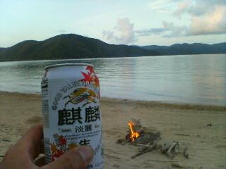 大島海峡に入った