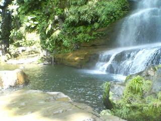 ナーラの滝で